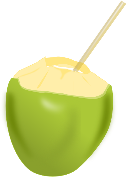 Coconut clipart. Clip art at clker