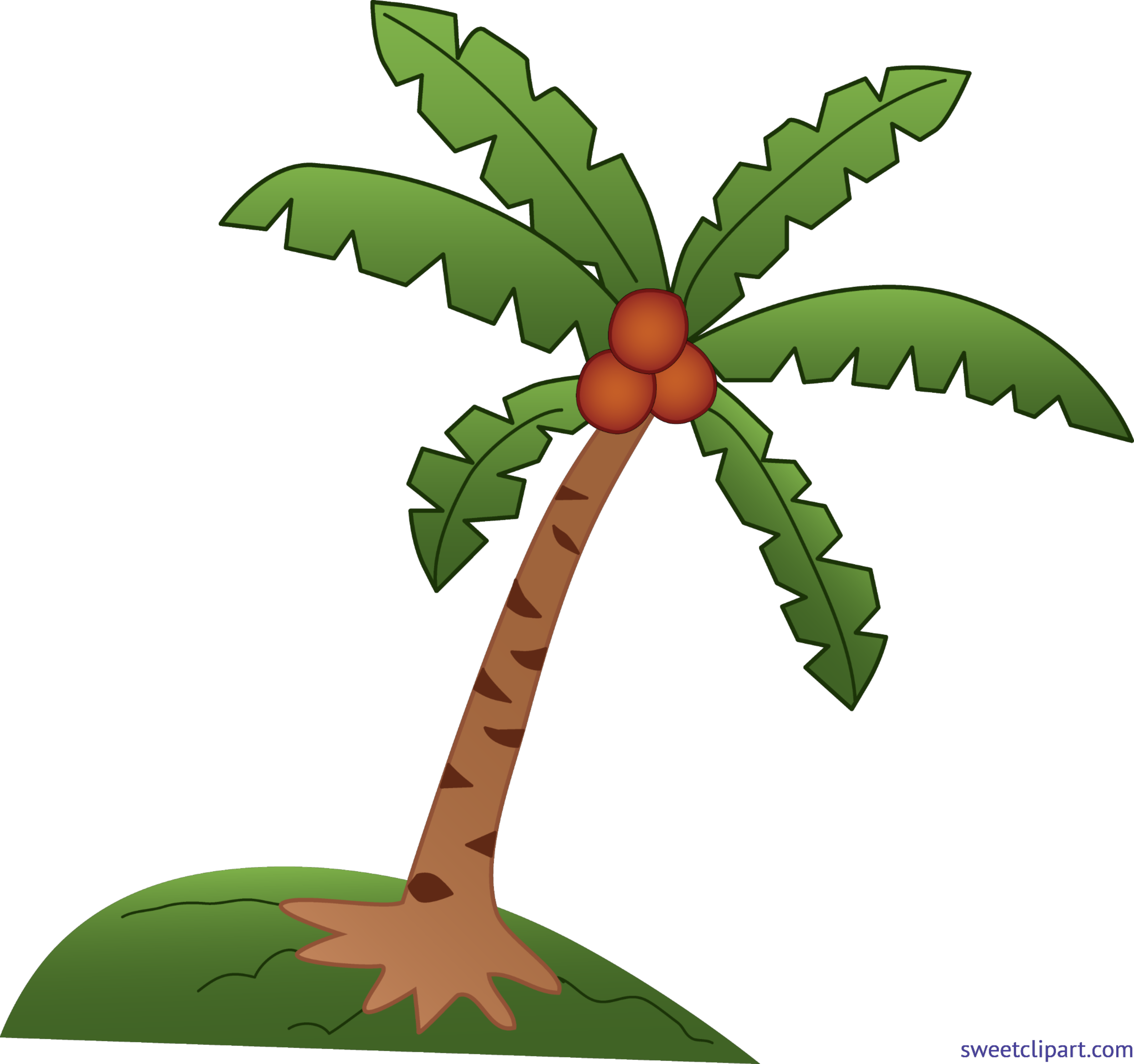 Coconut tree clip art. Palm clipart buko shake