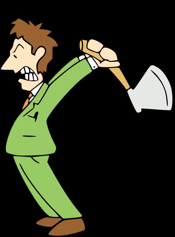 Cartoon animation clip art. Coconut clipart angry
