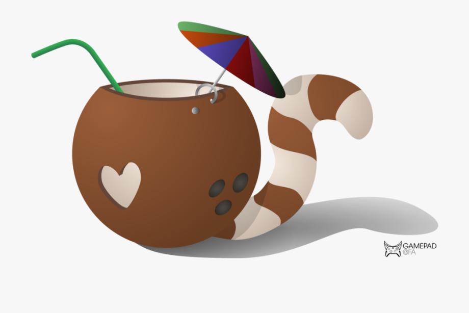 Illustration free . Coconut clipart coconut bunch