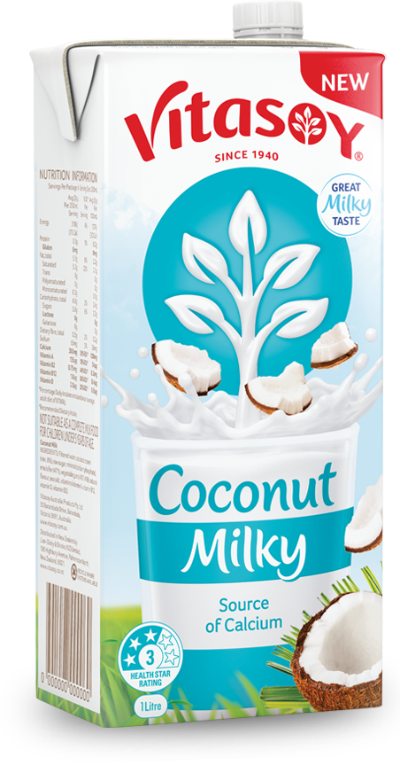 Vitasoy unsweetened you may. Coconut clipart coconut milk