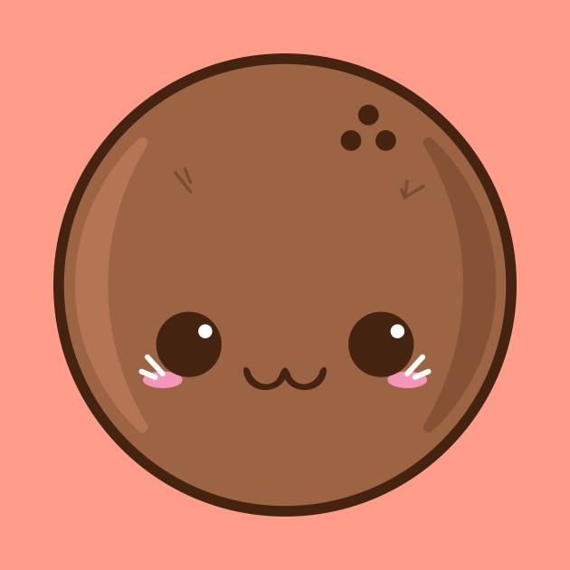 . Coconut clipart cute