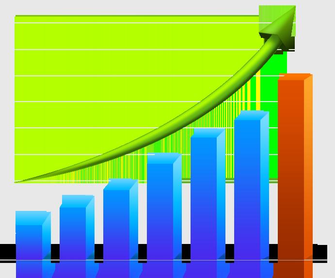 Graph clipart transparent. Bar chart of a