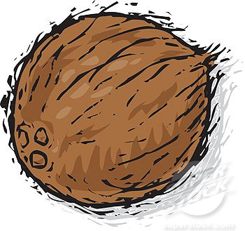 Pictures cartoon google search. Coconut clipart face