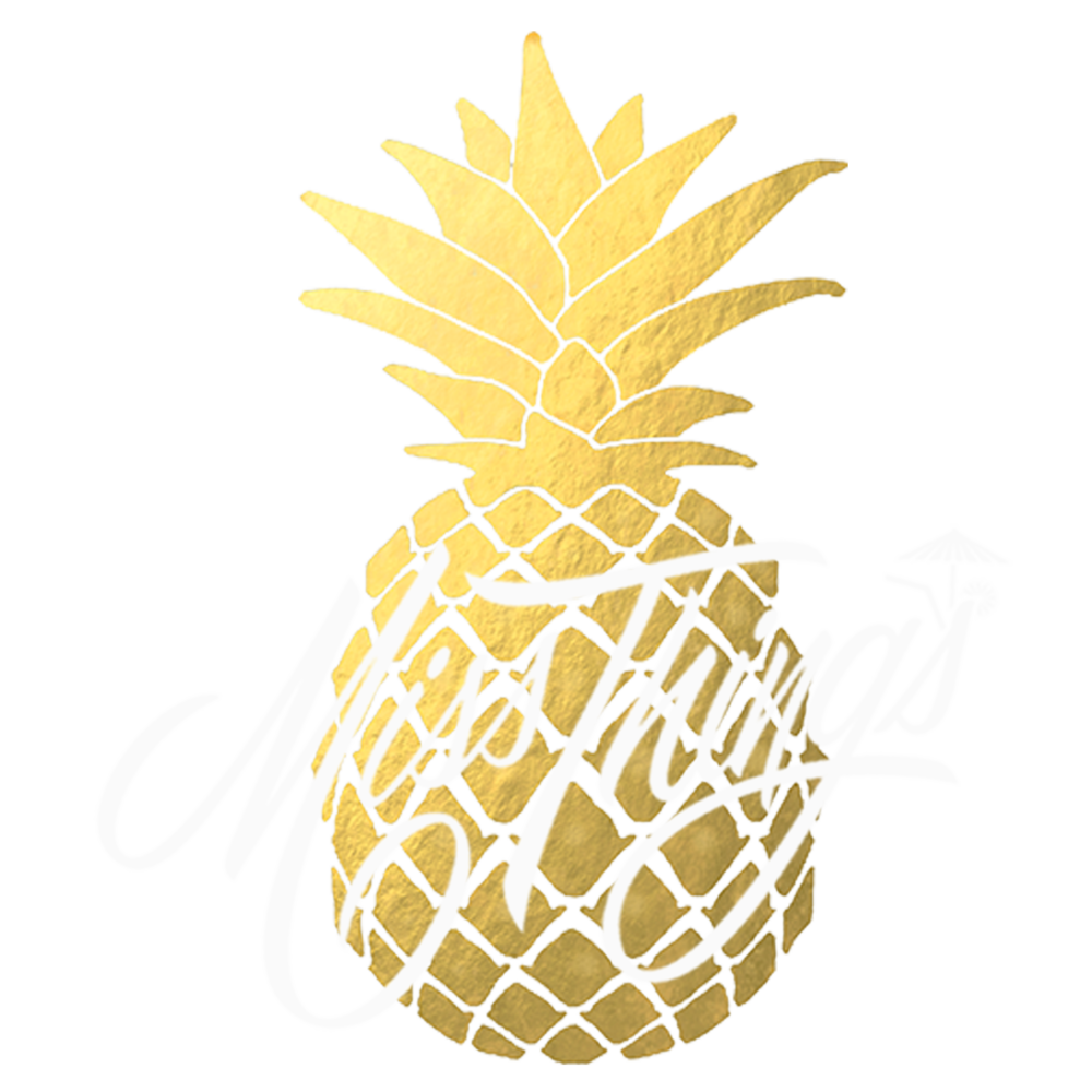 Miss thing s . Coconut clipart gold cocktail
