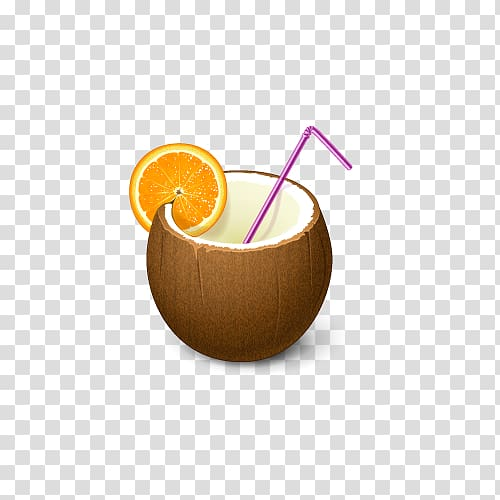 Coconut clipart gold cocktail. Americano water milk drink