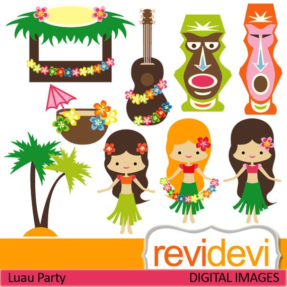Hawaii clip art girls. Hawaiian clipart hawaiian party