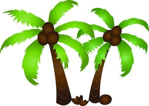 tree clip art. Coconut clipart i m