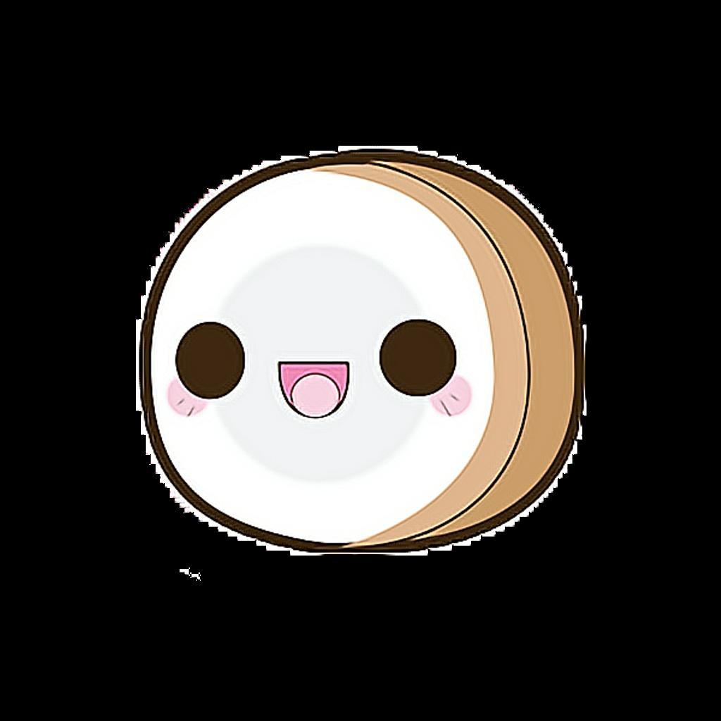 Coconut clipart kawaii. Coco tierno lindo bonito