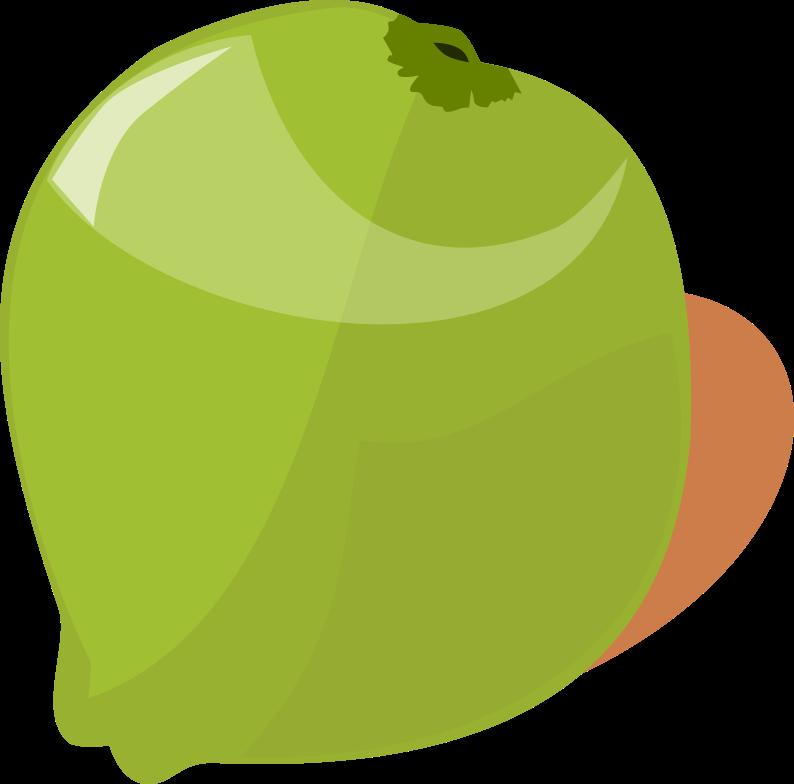 Coconut clipart kawaii. By devonique on deviantart