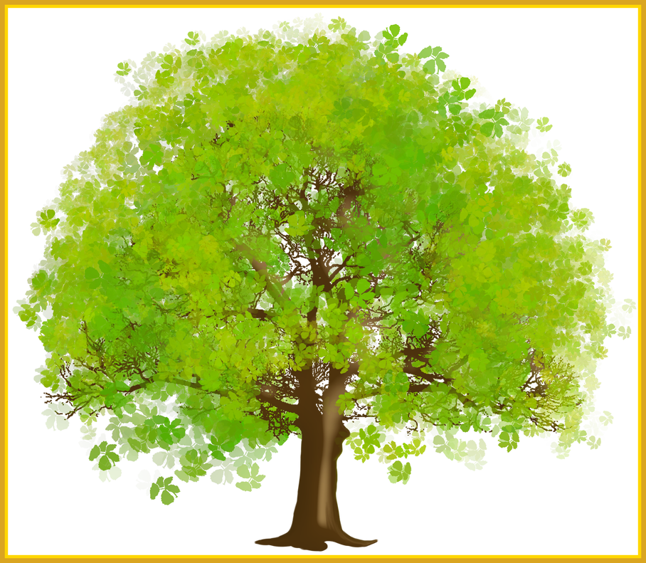 Inspiring green tree png. Coconut clipart large