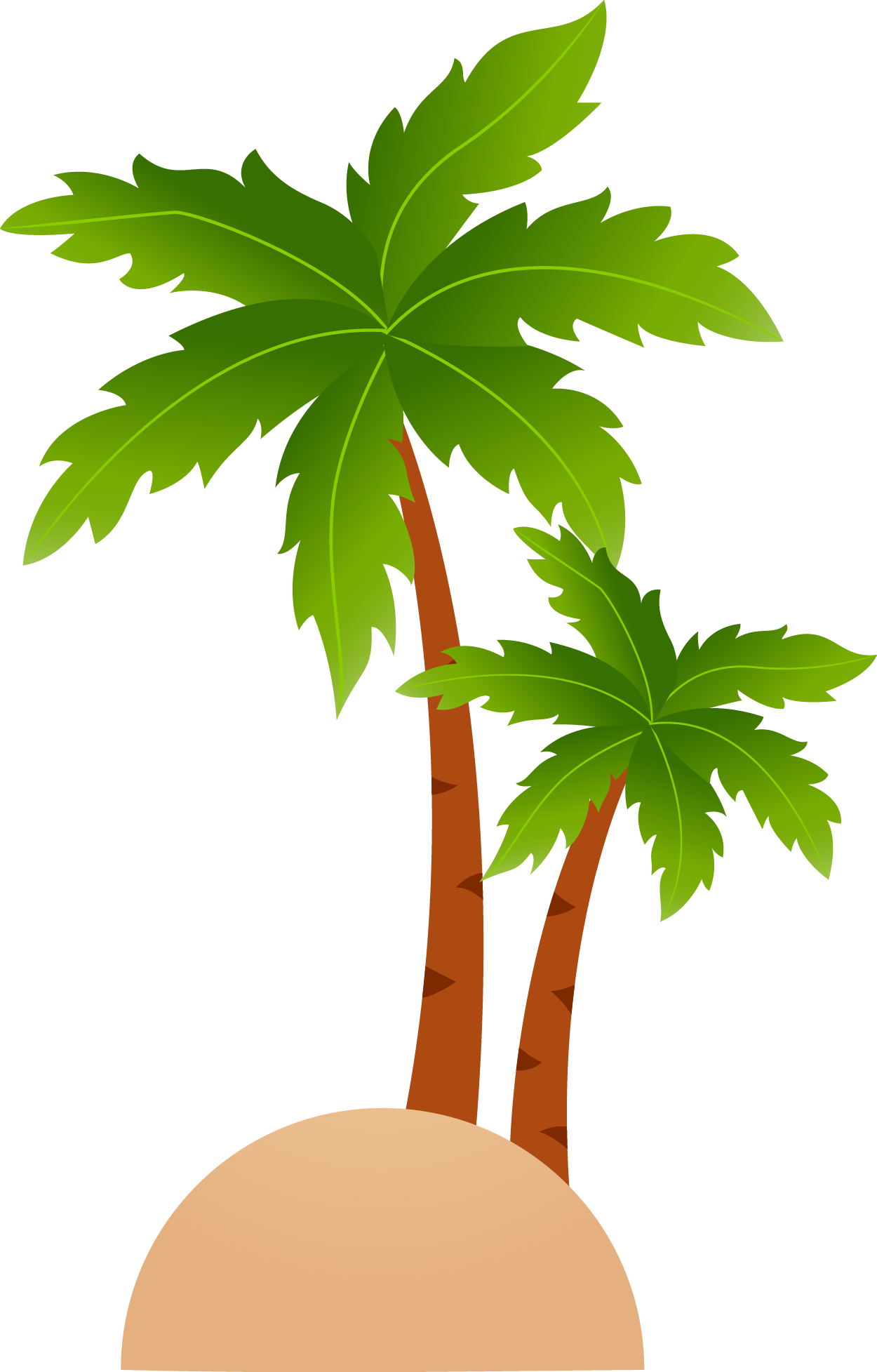 Islands resort cartoon clip. Coconut clipart tropical coconut