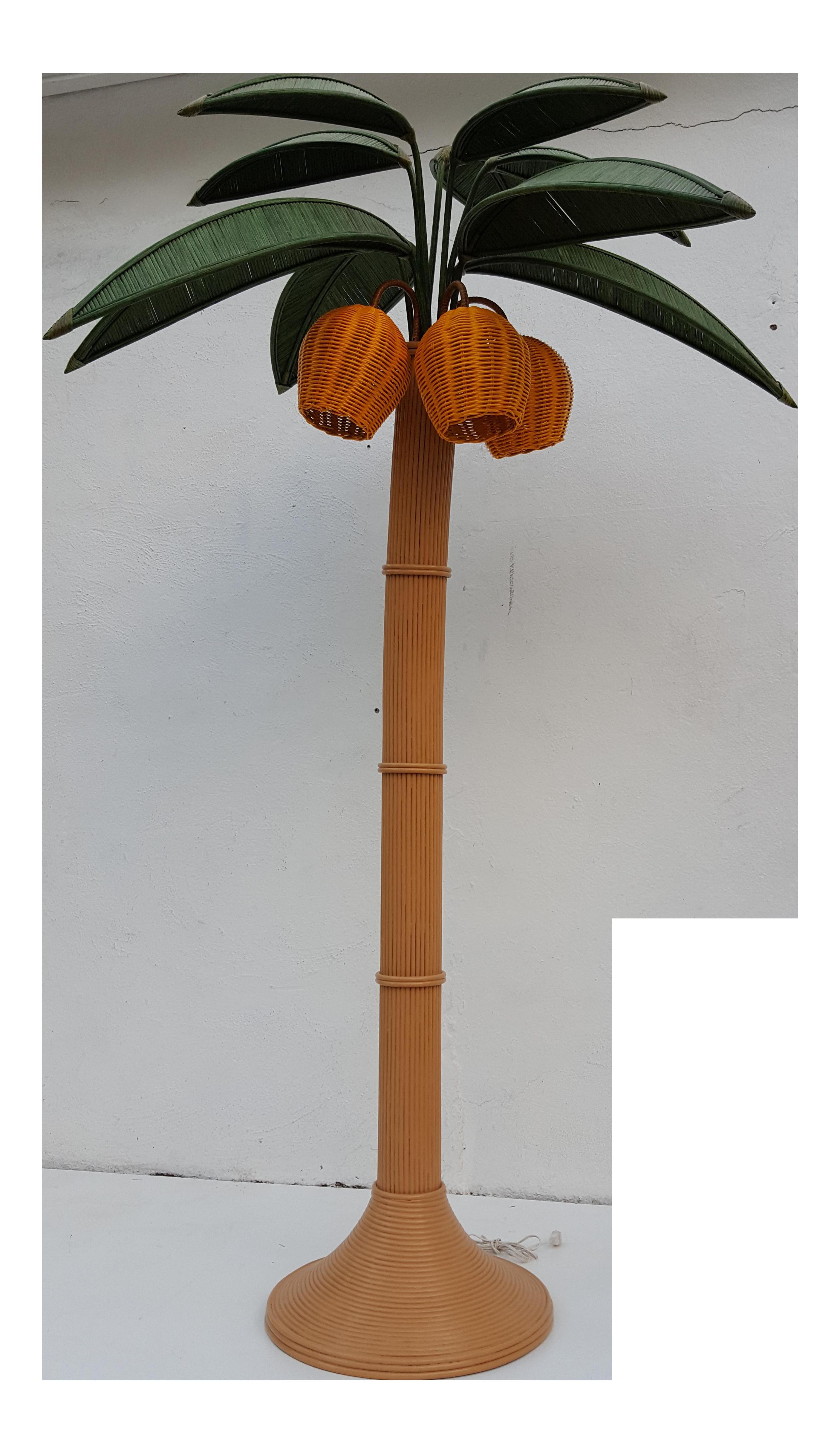 Tall rattan tree floor. Coconut clipart tropical coconut