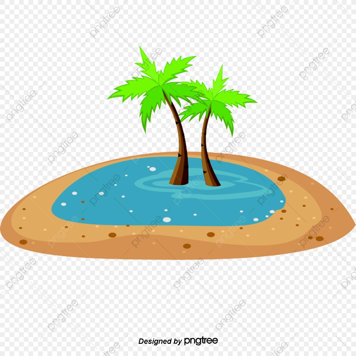 Trees vector . Coconut clipart tropical coconut