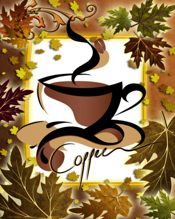 Coffee clipart autumn, Coffee autumn Transparent FREE for ...