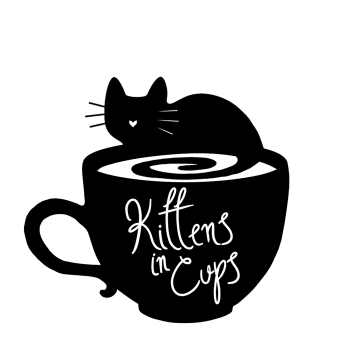 Words clipart cafe. Kittens in cups annapolis