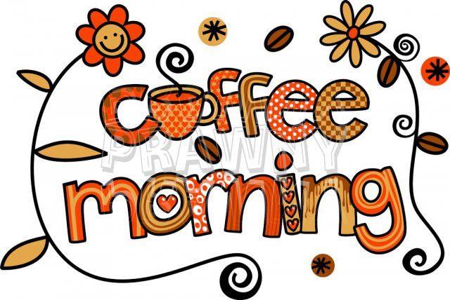 Image result for coffee morning clipart