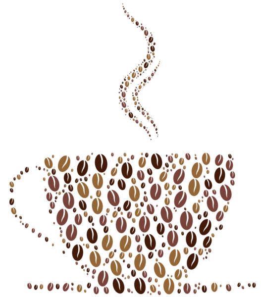 Deco cup png vector. Coffee clipart coffee station