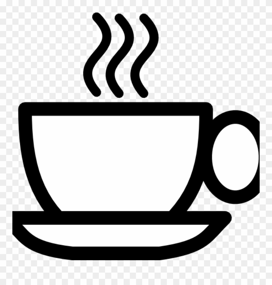 Free cup my pinterest. Coffee clipart line art