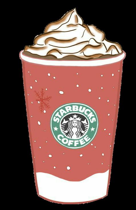 Coffee clipart milkshake. Ftestickers tumblr starbucks report