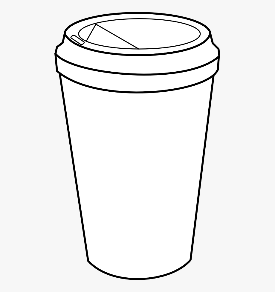 Coffee clipart outline, Coffee outline Transparent FREE ...