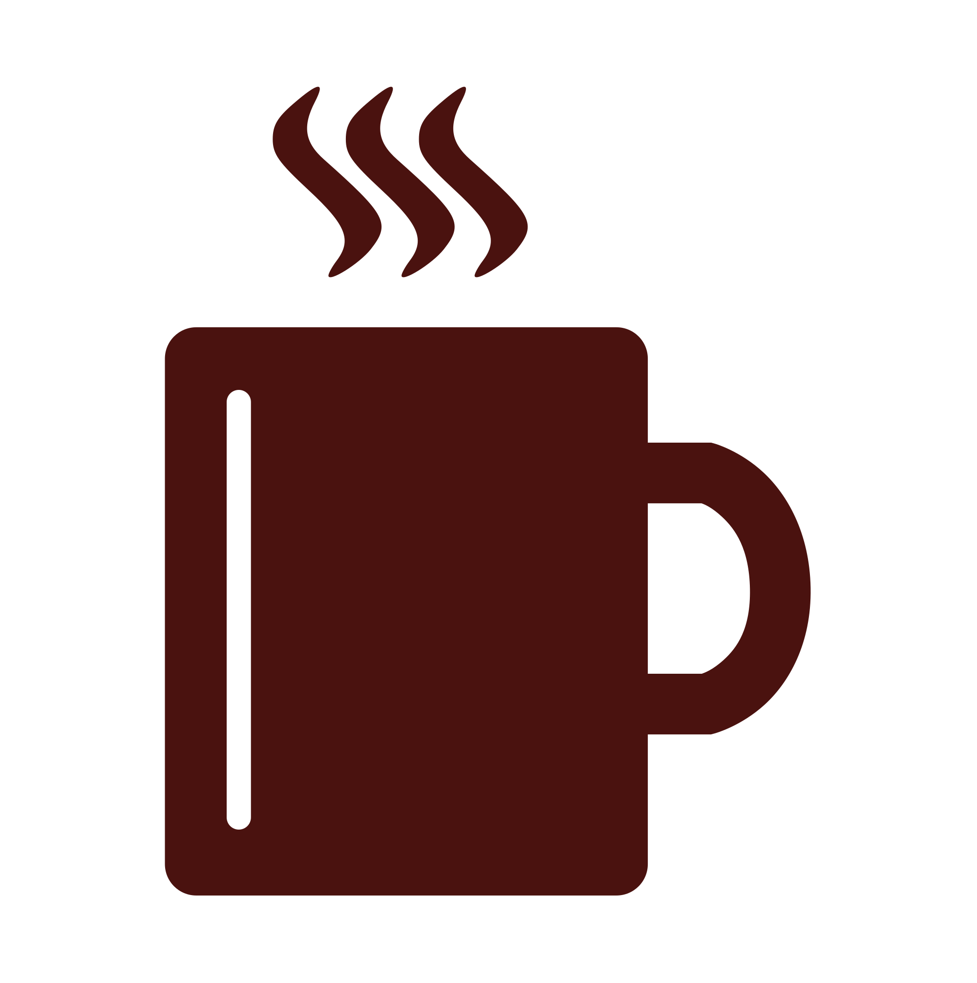 Cup clipart icon. File coffee mug flat