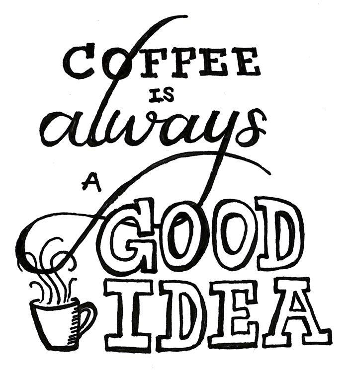 coffee clipart quotes coffee quotes transparent for