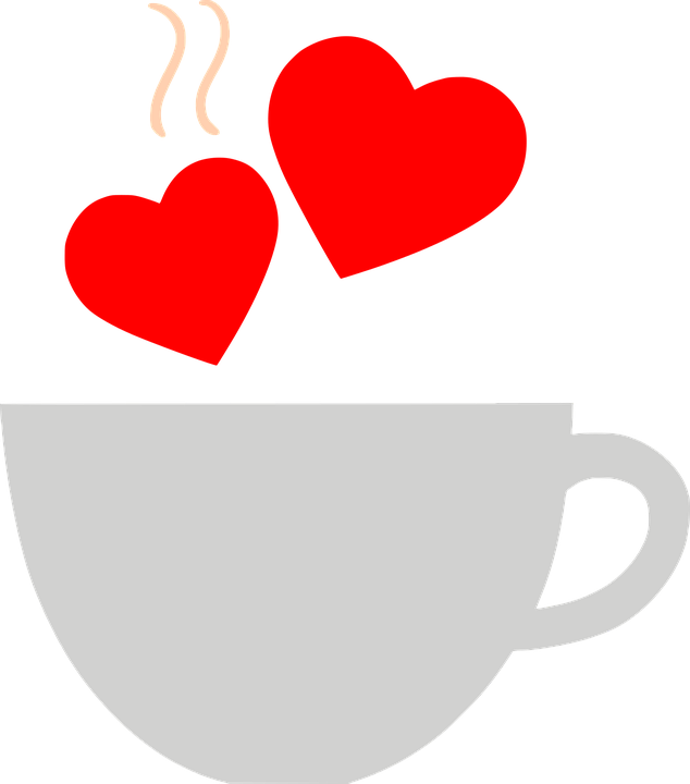 Coffee clipart valentines day. Collection of heart cliparts