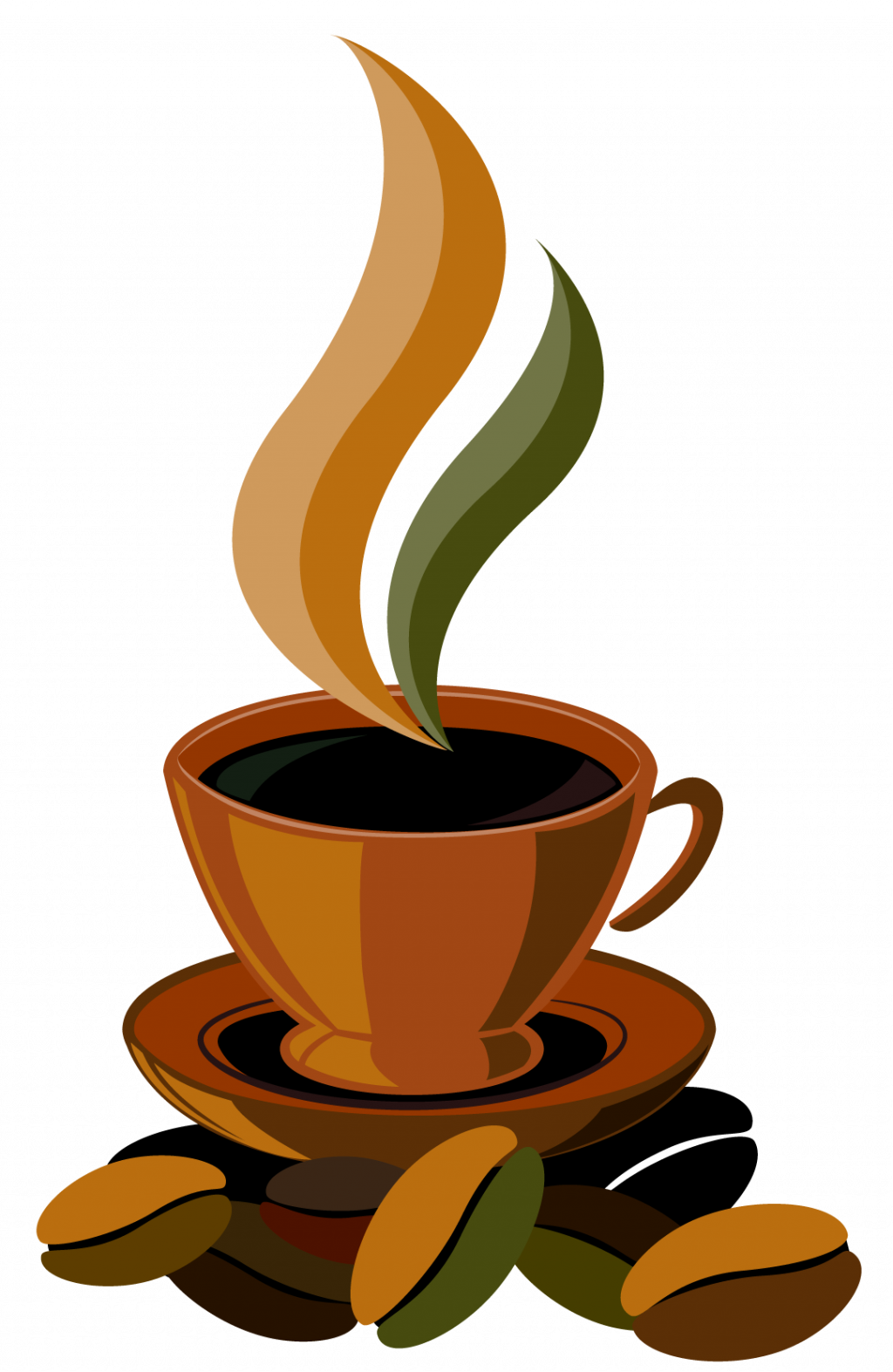 Coffee clipart woman. Free drinker cup