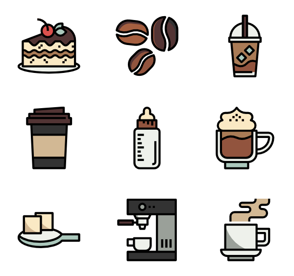 Coffee vector png.  icon packs svg