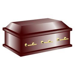 Coffin clipart. Clip art casket
