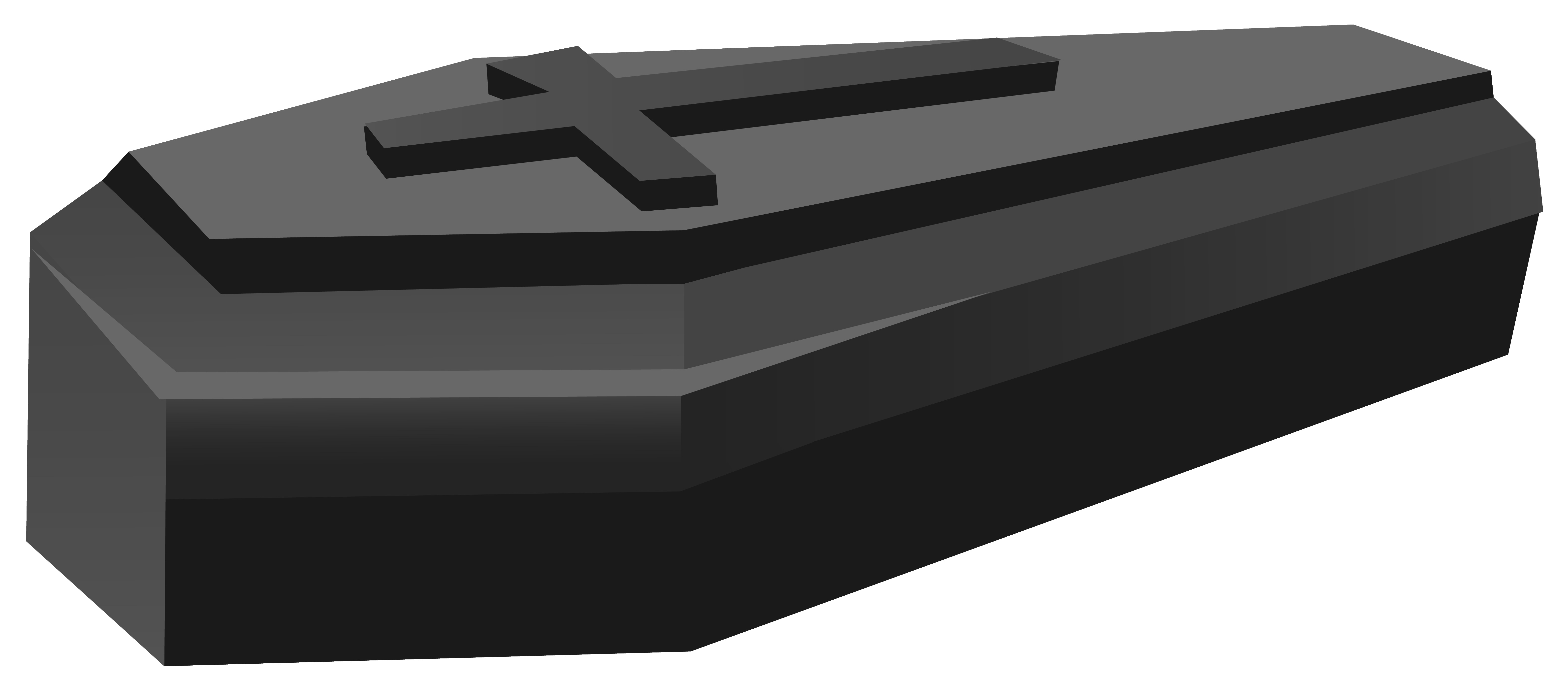 Coffin clipart. Black png image gallery