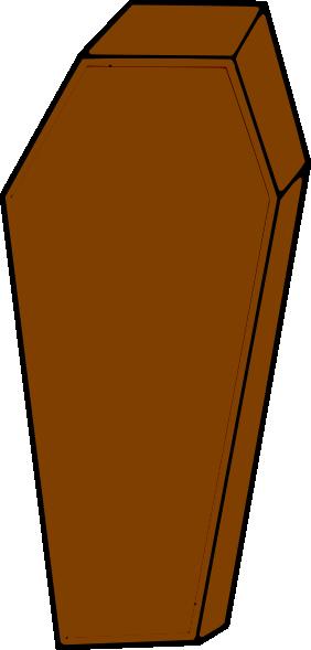 Clip art at clker. Coffin clipart
