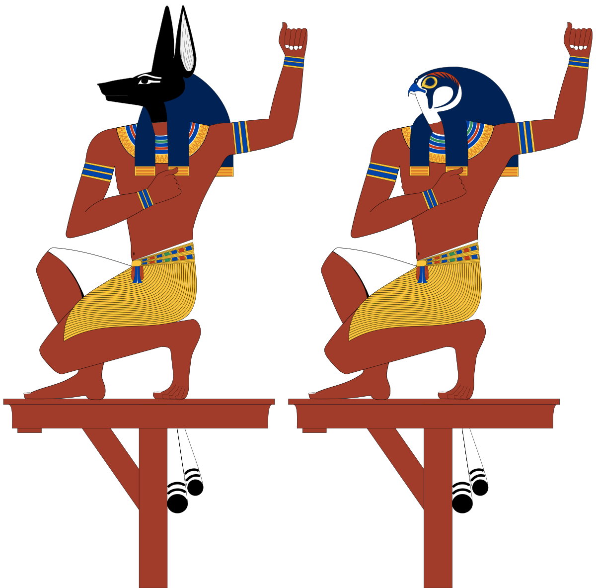 Souls of pe and. Egypt clipart egyptian anubis