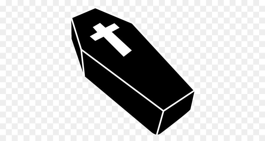 Coffin clipart black and white. Line logo illustration product
