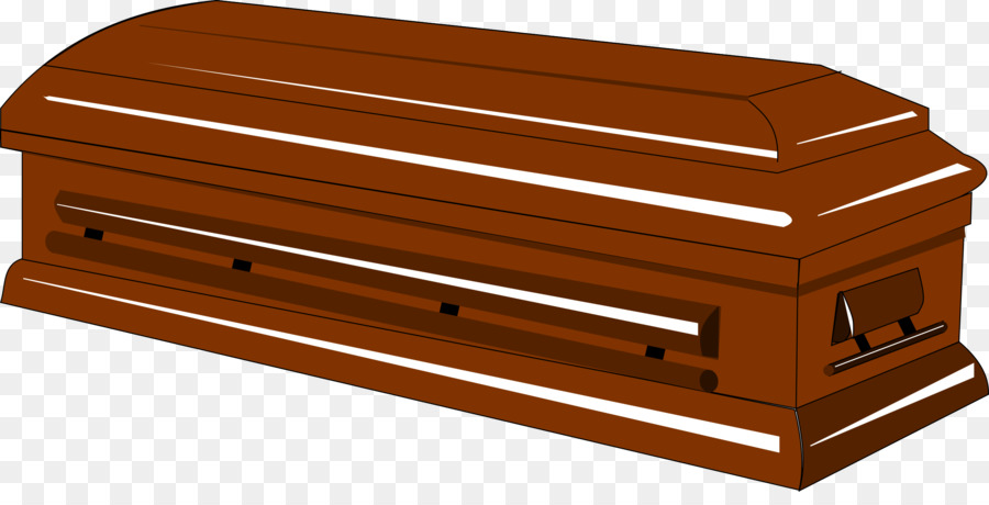 Death cartoon line furniture. Coffin clipart clip art