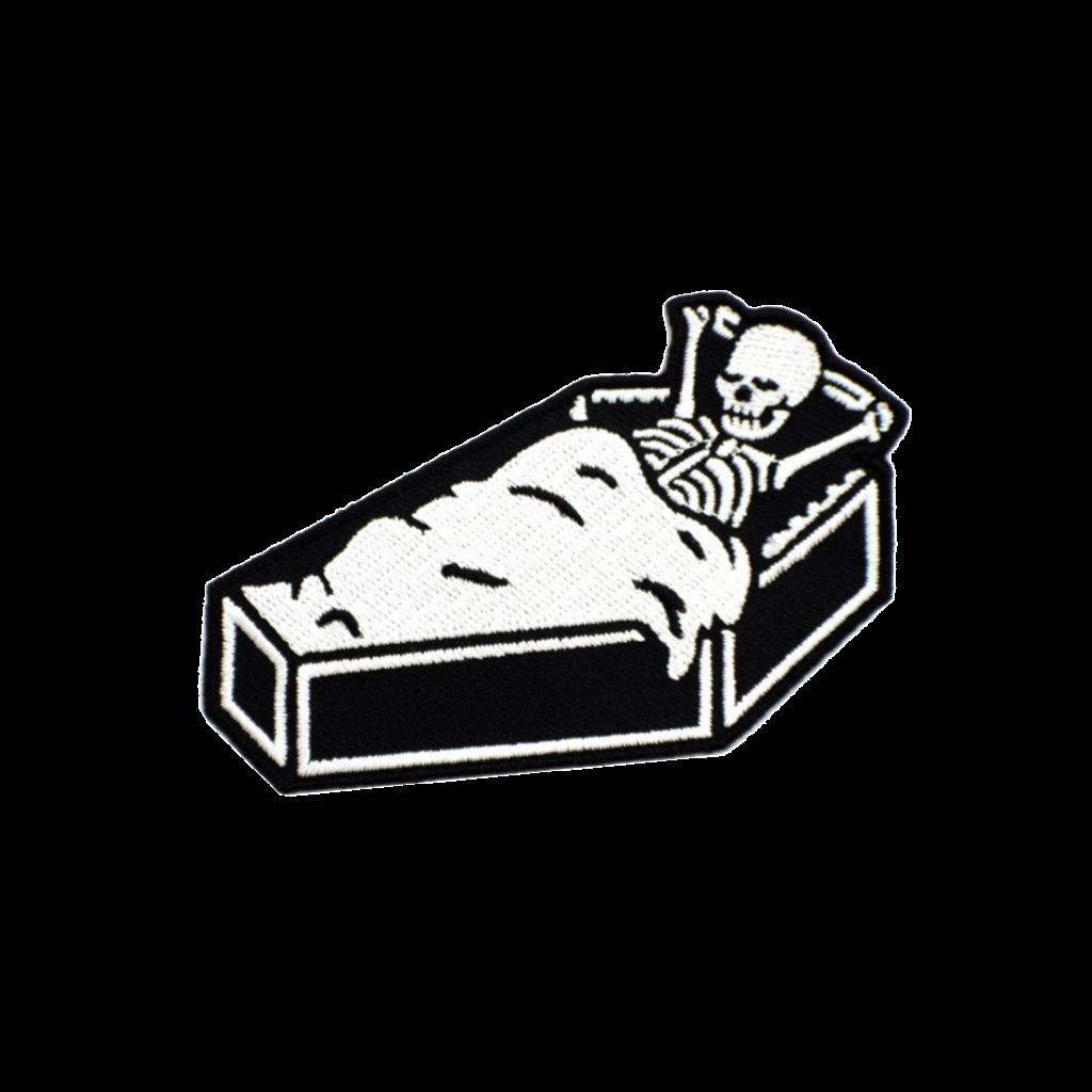 Coffin clipart empty. Deep sleep patch shittty