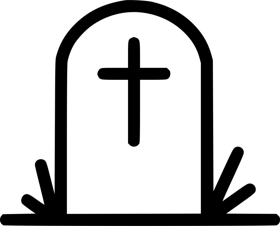 Gravestone clipart coffin box. Grave svg png icon