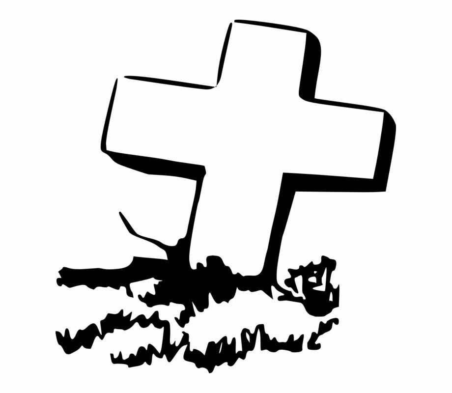 Coffin clipart grave. Cross clip art free