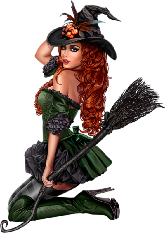 Sorci re png balai. Witch clipart skirt