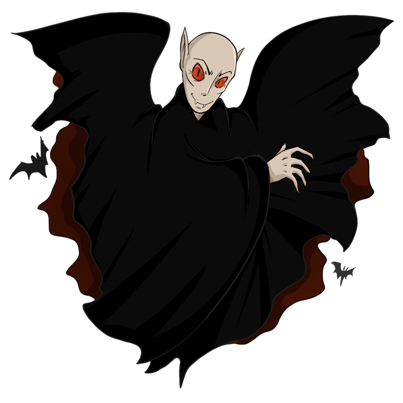 Vampire clipart evil. Free dracula pages of