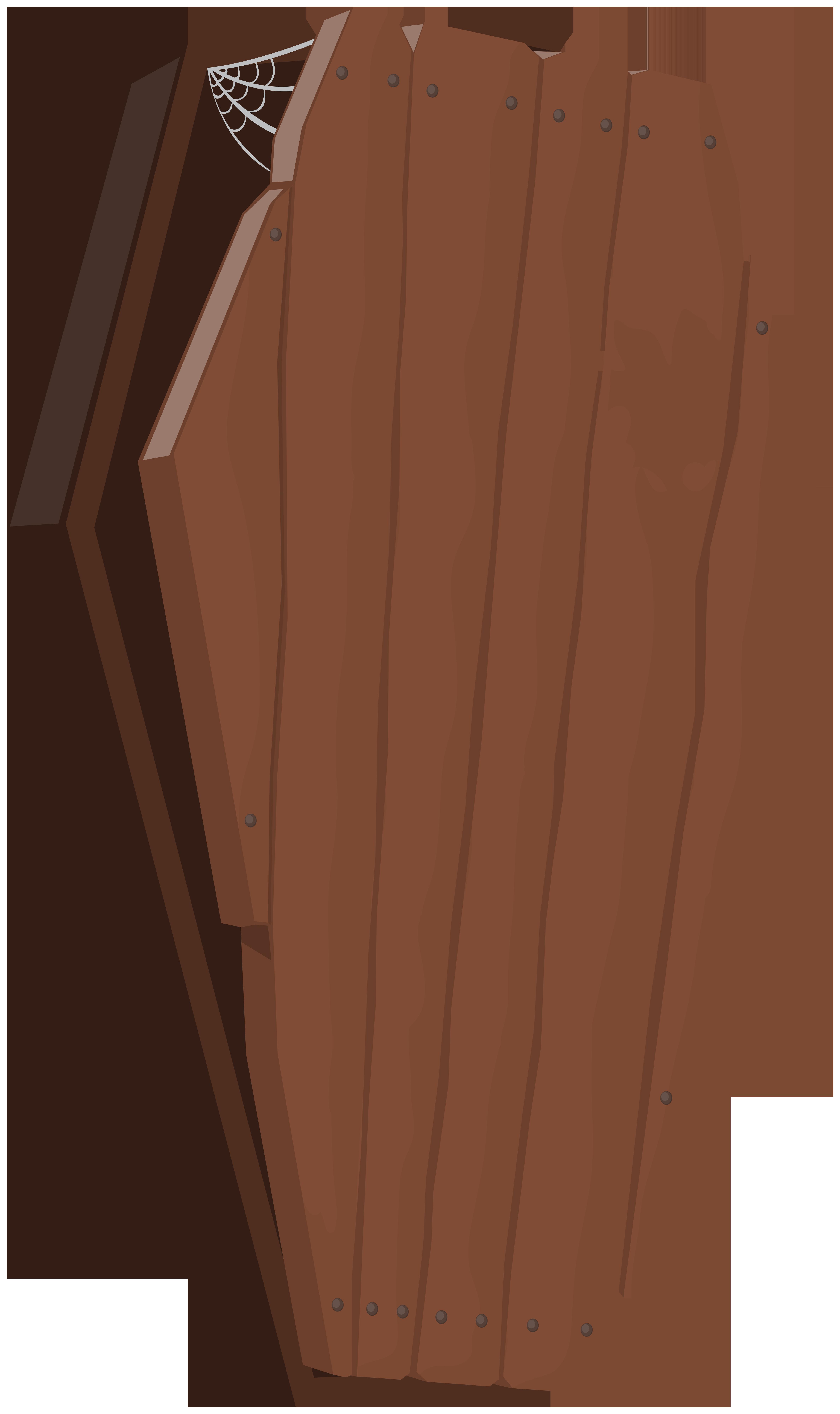 Old wooden clip art. Coffin clipart halloween