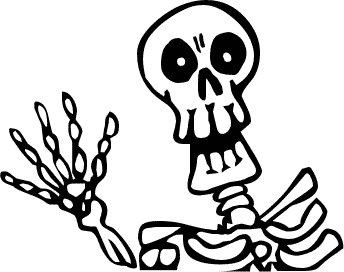 Drawing free download best. Coffin clipart halloween skeleton