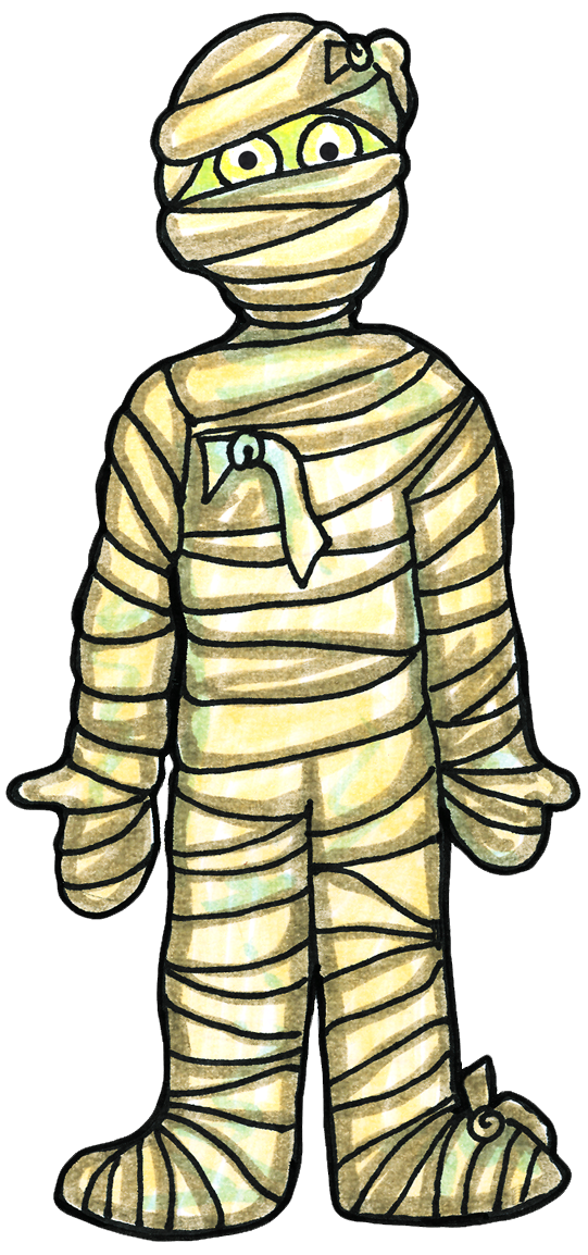 collection of ancient. Eyeballs clipart mummy