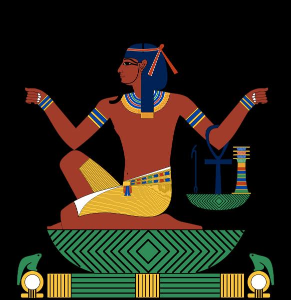 An ancient god heh. Egypt clipart egyptian artifact