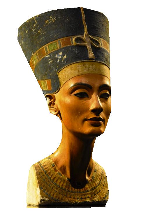 Egypt clipart egyptian artifact. Nefertiti armana period favorite