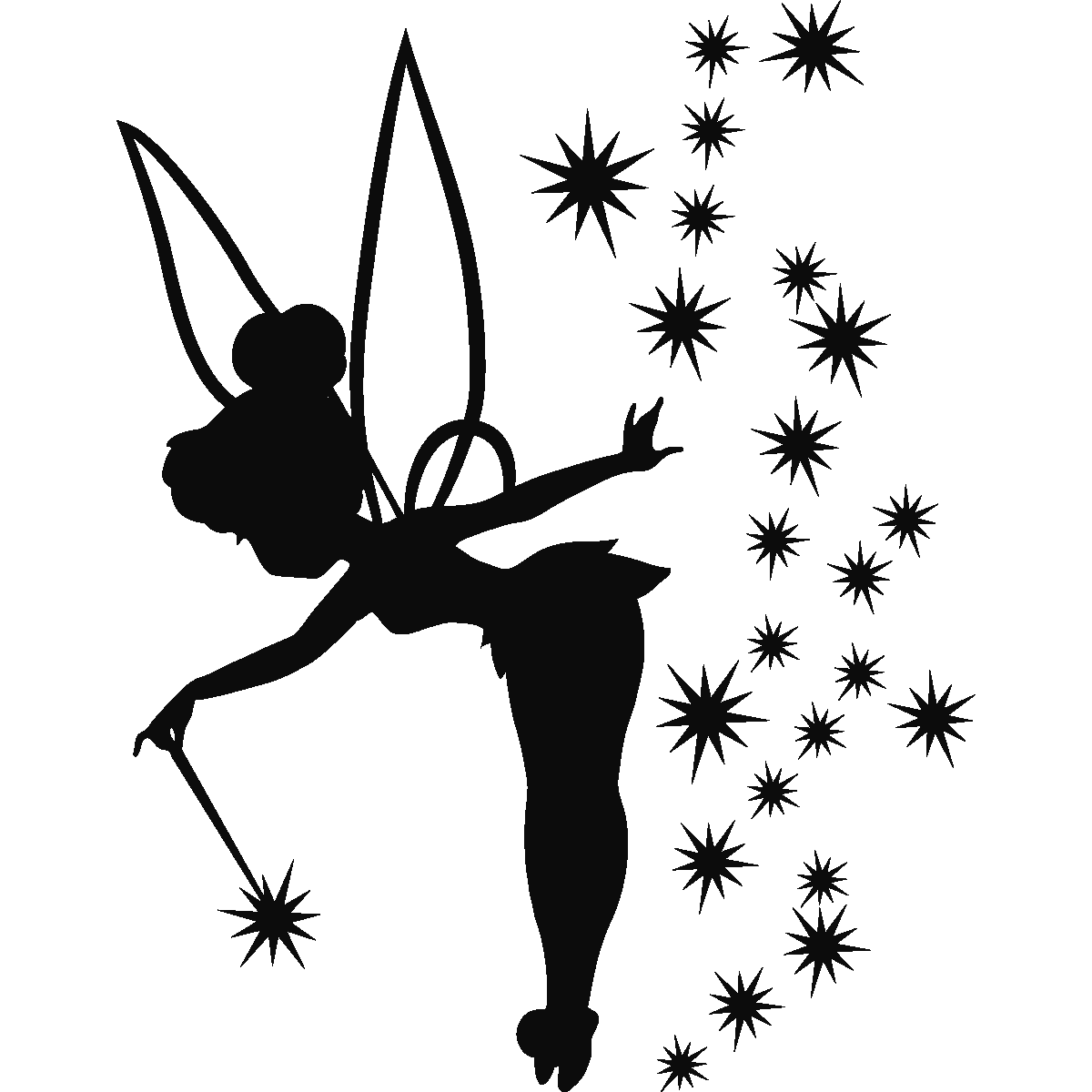 Dust clipart tinkerbell. Sticker f e adorable