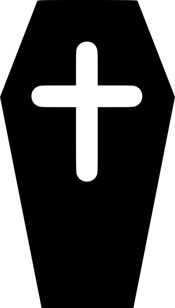 Coffin clipart svg. Death cross casket png