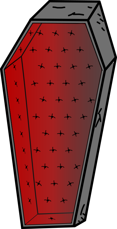 Medium image png . Coffin clipart svg