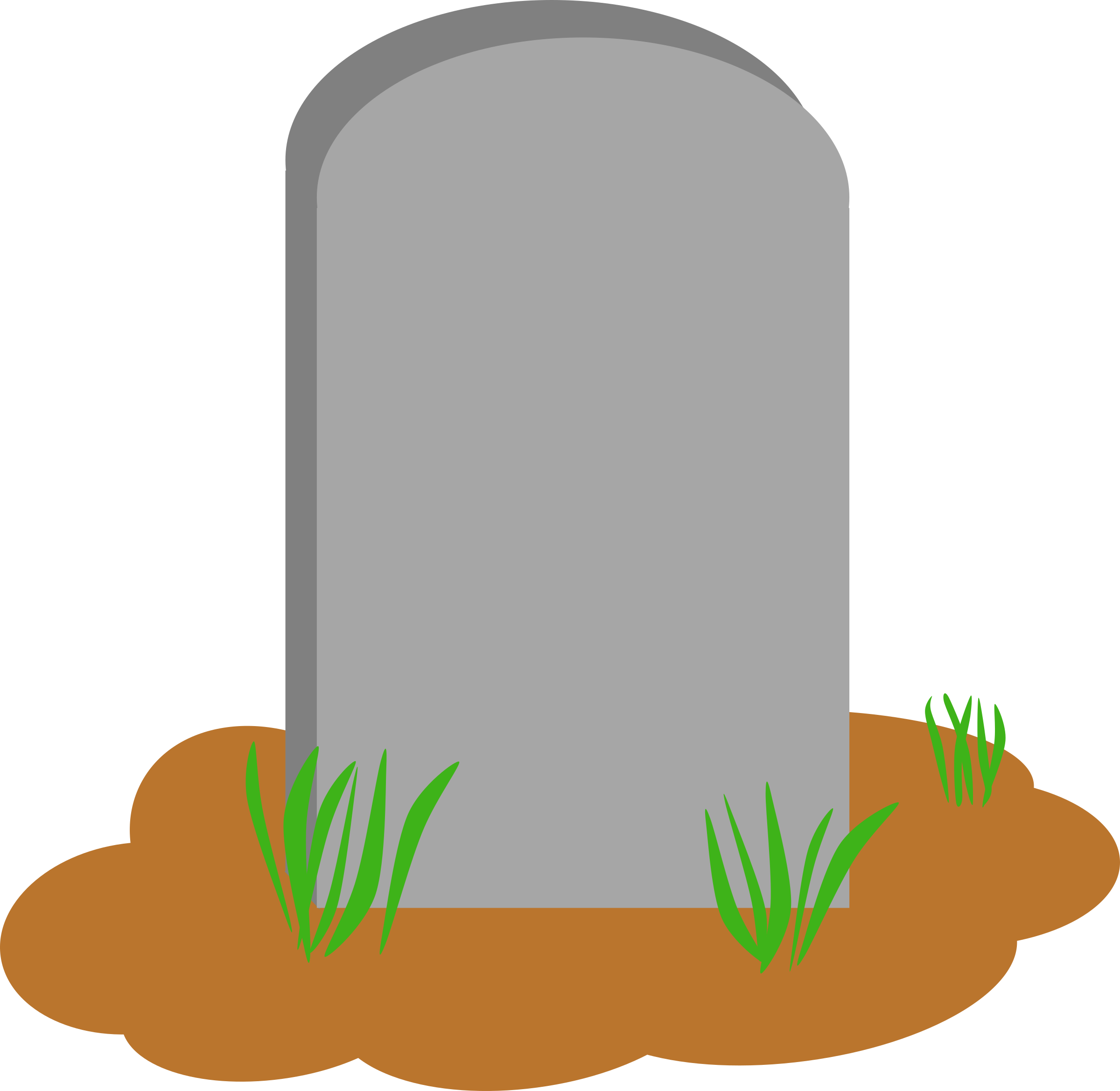 collection of tombstone. Grave clipart gravesite